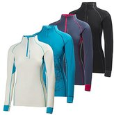 Helly Hansen Warm Flow High Neck 1/2 Zip Womens Running Top