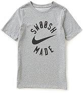 Nike Big Boys 8-20 Swoosh Short-Sleeve Tee