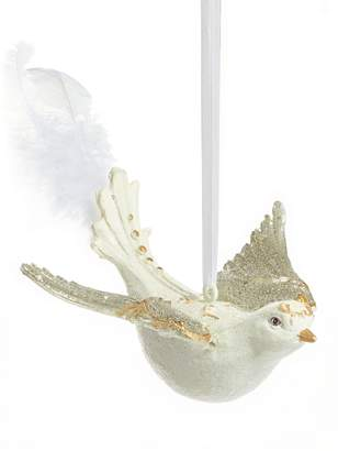 story. Glucksteinhome Storybook Winged Bird Ornament