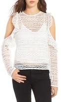 Line & Dot Women's Daiguri Cold Shoulder Top