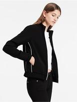 Calvin Klein Satin Track Jacket