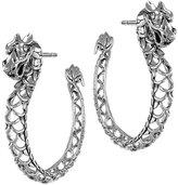 John Hardy Naga Dragon Hoop Earrings
