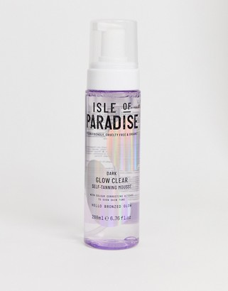 Isle of Paradise Dark Glow Clear Self Tanning Mousse