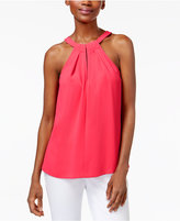 Trina Turk Quince Keyhole Halter Top