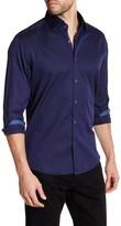 Stone Rose Jacquard Regular Fit Shirt