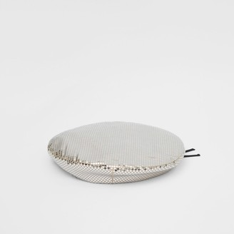 Burberry Mirrored Stretch Jersey Oversized Beret