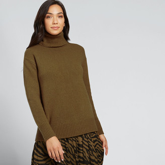 Seed Heritage Cashmere Roll Neck Knit