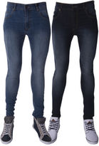 Rock & Religion New Mens Rodan Distressed Slim Fit Jeans All Waist And Leg Sizes