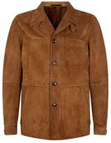 Tom Ford Shearling-Lined Suede Jacket