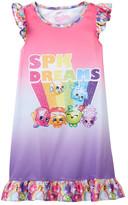 Shopkins Dreams Ruffle Night Gown (Little Girls & Big Girls)