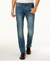 Buffalo David Bitton Men's Faded Straight-Fit Jeans