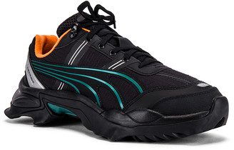 Puma Select x Helly Hanson Nightfox in Puma Black & Orange | FWRD