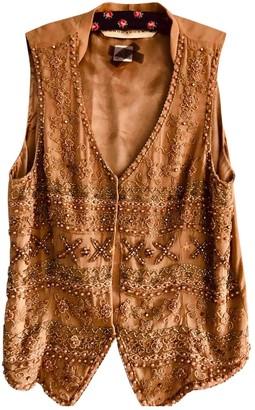 Schumacher Beige Silk Jacket for Women