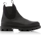 Prada Lifestyle Leather Boots