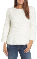 Women's Caslon Loop Stitch Crewneck Sweater