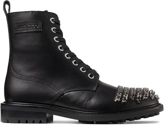 Jimmy Choo Turing studded ankle boots