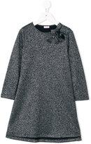 Il Gufo lurex shift dress