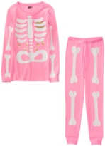 Crazy 8 Skeleton 2-Piece Pajama Set