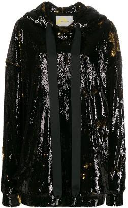 Marques Almeida Marques'Almeida sequin embroidered hoodie