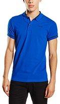 Bjorn Borg Men's Sand Polo Short Sleeve T-Shirt,Medium