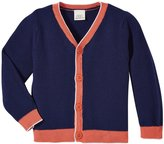 Egg by Susan Lazar V-Neck Cardigan (Baby) - Navy - 12 Months