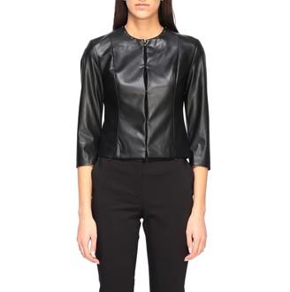 Liu Jo Leather Jacket With Studs