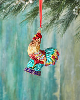 Christopher Radko Christmas Rooster Ornament