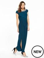 Wallis Moon Trim Maxi Dress