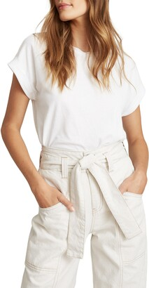 Reiss Tereza Cap Sleeve T-Shirt
