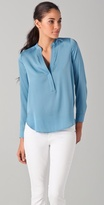 1/2 Placket Blouse