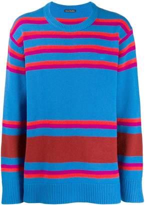 Acne Studios striped knit sweater
