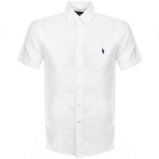 Ralph Lauren Slim Fit Short Sleeved Shirt White