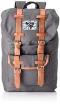Gola Classics Unisex-Adult Bellamy 2 Backpack Dk Charcoal/Tan