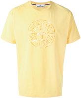 Stone Island logo print T-shirt - men - Cotton - XL