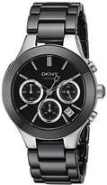DKNY Women's NY4914 CHAMBERS Black Watch