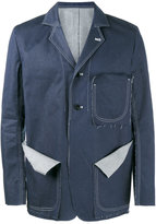 Sulvam - denim shirt jacket - men - Cotton - S