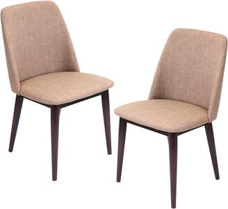 Lumisource Set Of 2 Tintori Dining Chairs