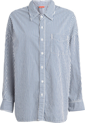 Denimist Striped Cotton Button Down Shirt