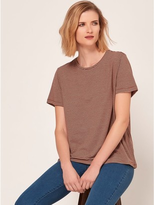 M&Co Vero Moda Aware striped t-shirt