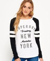 Superdry Applique Raglan Long Sleeve T-shirt