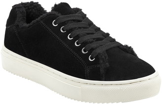 Marc Fisher Dakari Faux Fur Lined Sneaker