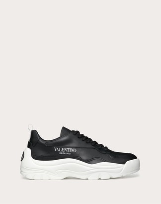 Valentino Gumboy Sneaker In Calfskin Women Black 100% Pelle Di Vitello - Bos Taurus 37