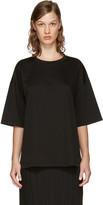 Jil Sander Black Open Back T-shirt