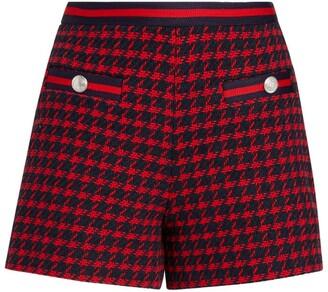 Claudie Pierlot Houndstooth Shorts