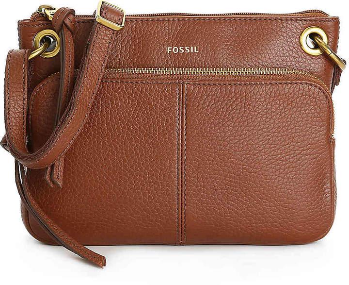 e7e637749 Cognac Leather Crossbody Bag - ShopStyle