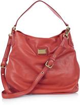 Hillier Hobo leather shoulder bag