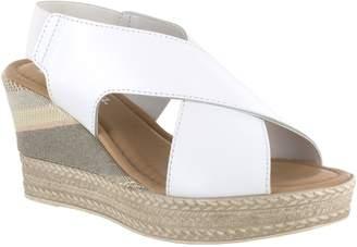 Bella Vita Leather Wedge Sandals - Bec-Italy