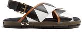 Marni Zigzag-appliqué sandals