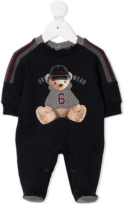 Lapin House Teddy Bear Print Pajamas