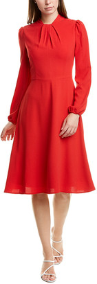 Maggy London Crepe A-Line Dress